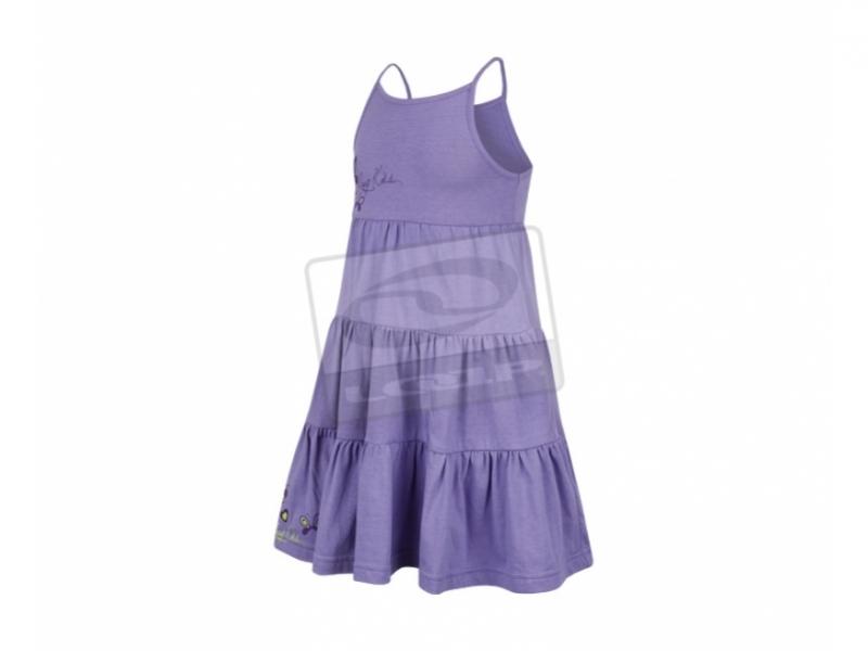 šaty dětské LOAP RAVELA fialové, 86