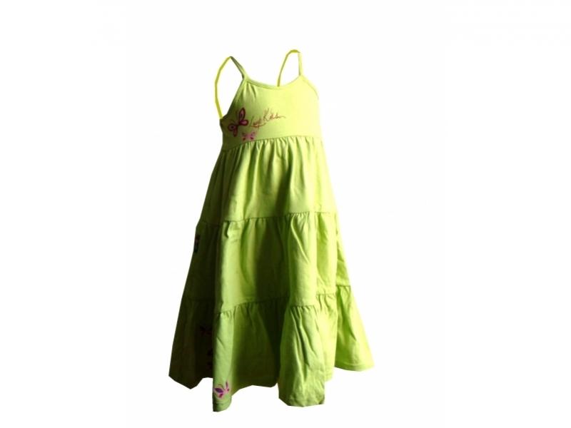 šaty dětské LOAP RAVELA zelené, 92