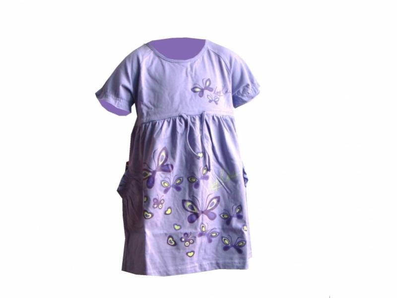 šaty dětské LOAP RONAF fialové, 92