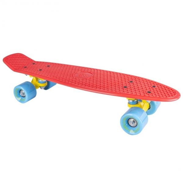 skateboard Spokey CRUISER červený