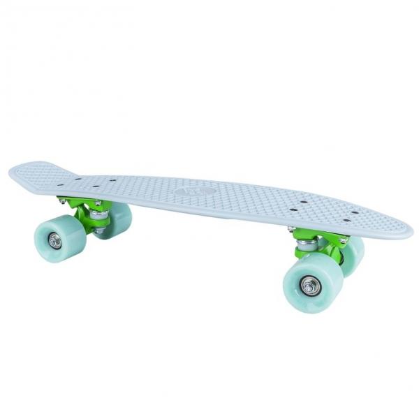 skateboard Spokey CRUISER sv.modrý