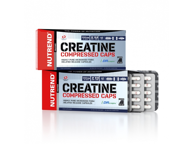 tablety Nutrend Creatine Compressed 120tablet