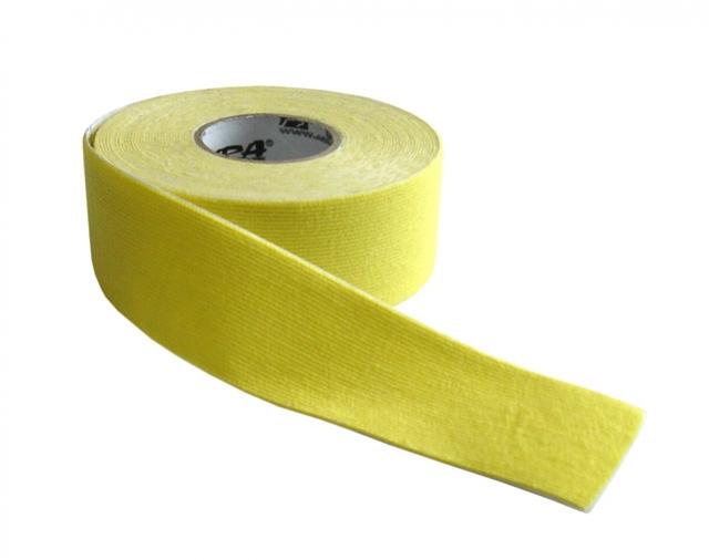 tape kinezio 2.5x5m žlutý
