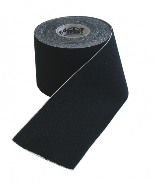tape kinezio 5x5m černý
