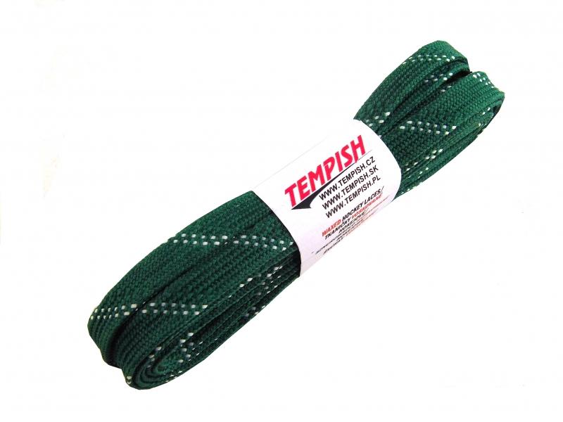tkaničky Tempish voskované tm.zelené, 200