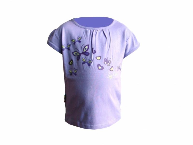triko krátké dětské LOAP ROJA fialové, 86