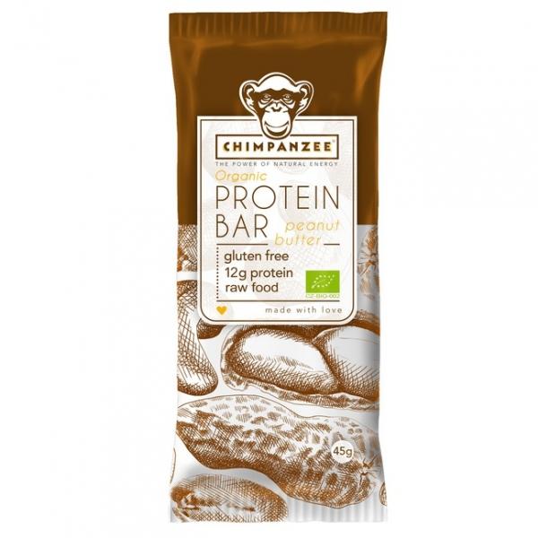 tyčinka Chimpanzee Organic Protein Bar arašídy