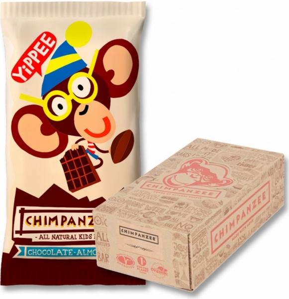 tyčinka Chimpanzee Yippee Bar čokoláda+mandle