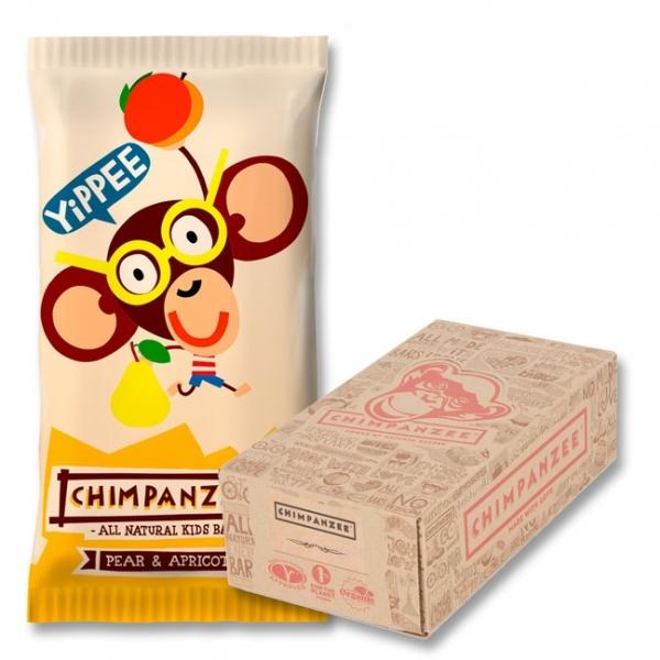tyčinka Chimpanzee Yippee Bar meruňka+hruška