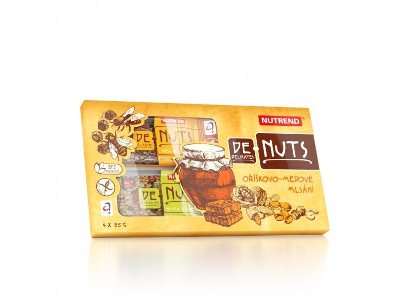 tyčinka Nutrend DeNuts 4x35g Family pack