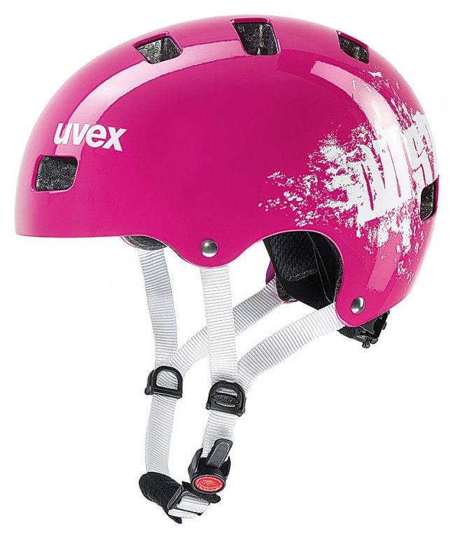 přilba dětská UVEX Kid 3 pink dust, 51-55