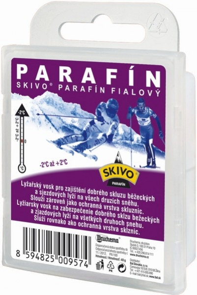 vosk Skivo parafín fialový 40g