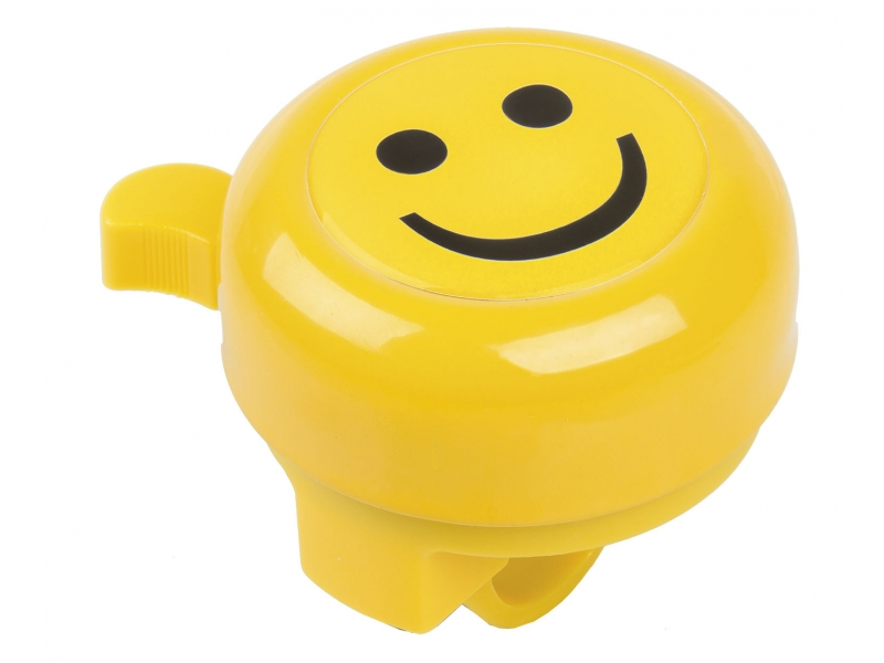 Zvonček M-Wave SMILEY žltý